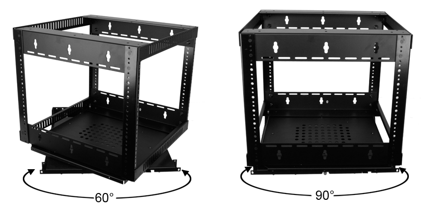 Custom Home Theater Swivel Rack