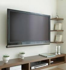TV Wall Mount with Concealed Wires